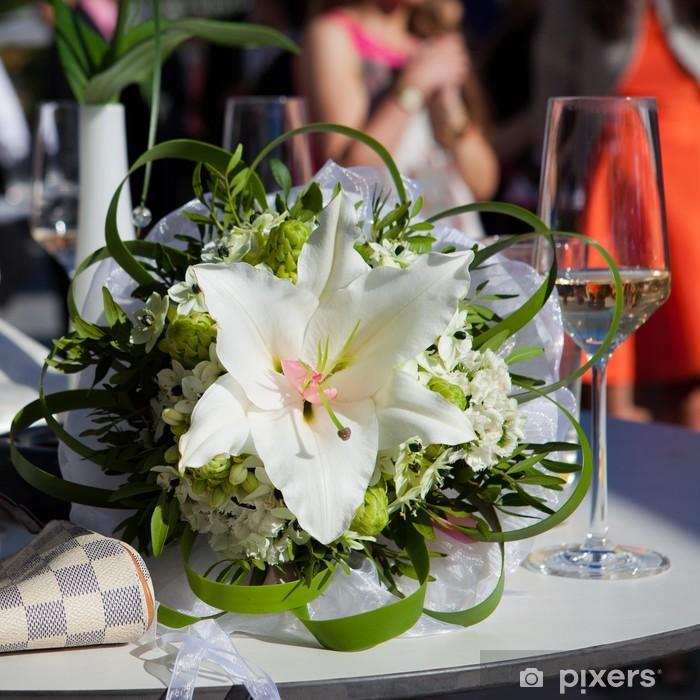 Poster Bouquet de mariée avec lys - Célébrations