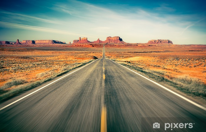 Papier peint vinyle Monument Valley -