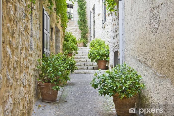 Fototapeta winylowa Wąska ulica w Prowansji - Europa