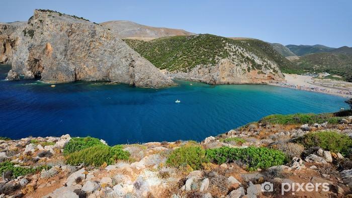 Vinyl-Fototapete Sardinien - Cala Domestica - Buggerru - Urlaub