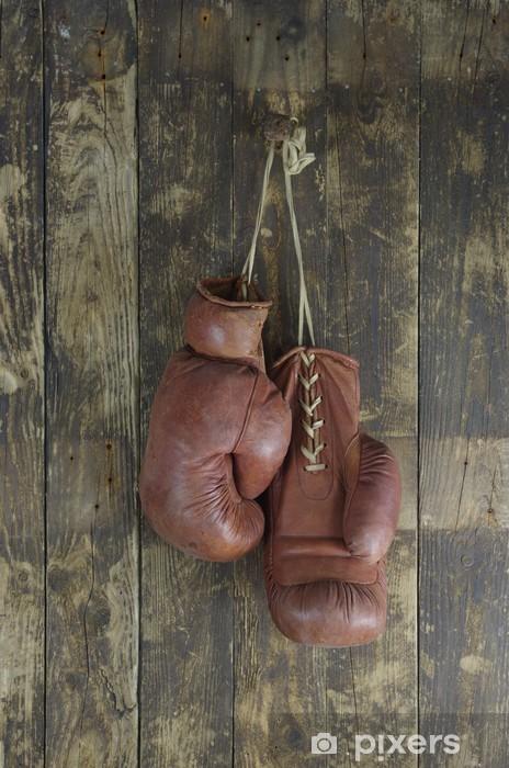 Fototapeta winylowa Stare rękawice bokserskie - Tematy