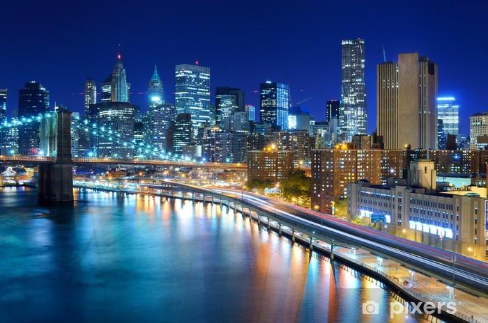 Fototapeta winylowa Manhattan skyline - Tematy