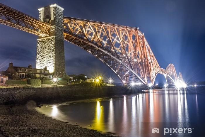 Fototapeta samoprzylepna Noc na Forth Road Bridge - Tematy