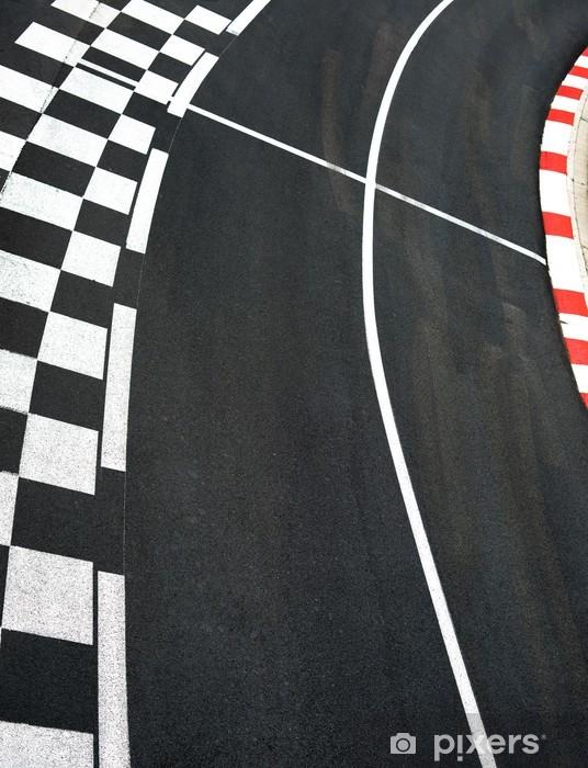 Fototapeta winylowa Asfalt wyścigowy Grand Prix Monako na torze ulicznym - Sporty ekstremalne