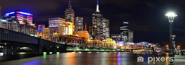 Papier peint vinyle Uferpromenade à Melbourne - Thèmes