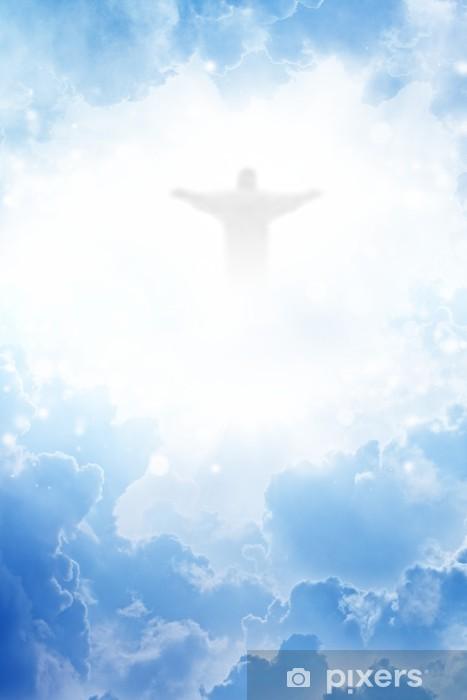 Papier peint vinyle Christ dans le ciel - Culture et religion