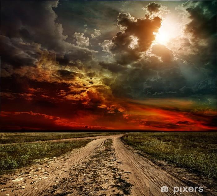 Fototapeta samoprzylepna Wiejska droga - Tematy