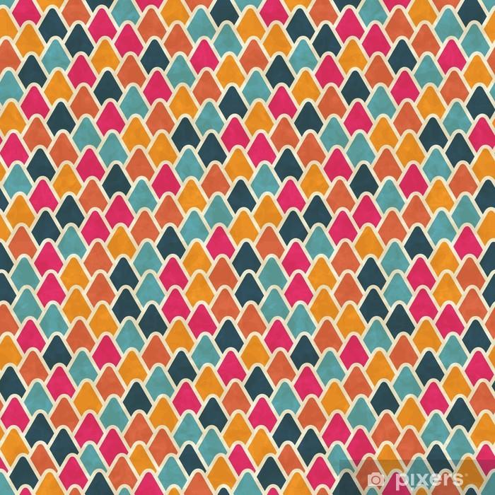 Mat- och Skrivbordsdekor Seamless retro geometriska mönster. EPS10 vektor textur. - Teman