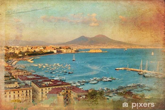 Veduta del Golfo di Napoli Vinyl Wall Mural - Themes