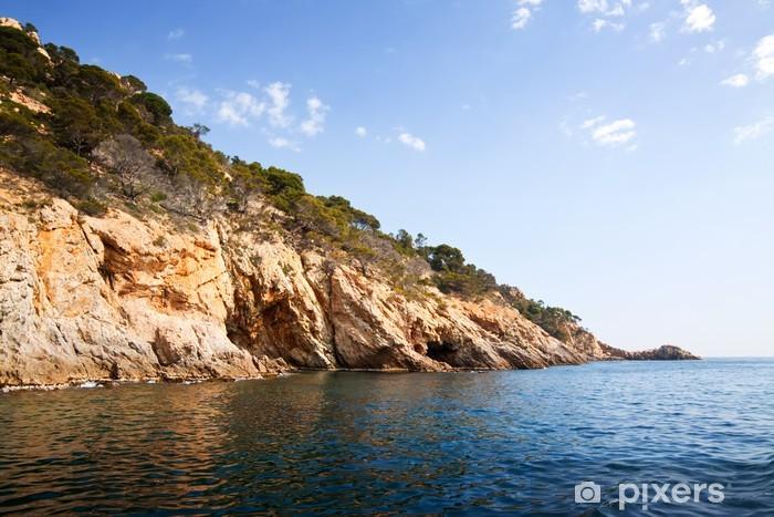 Costa brava rannikolla Vinyyli valokuvatapetti - Eurooppa