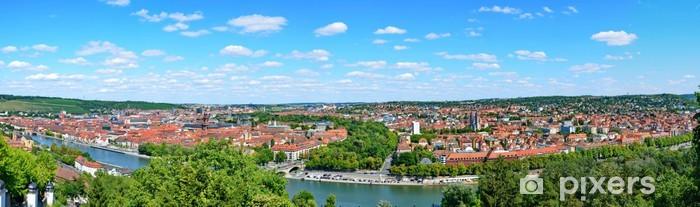 Sticker Pixerstick Panorama Würzburg - Europe
