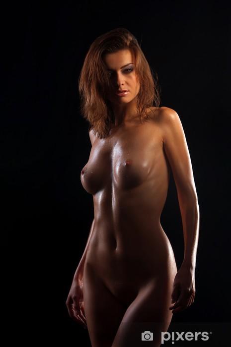Fototapeta winylowa Niski klucz zdjęcie sexy ciało kobiety - Tematy