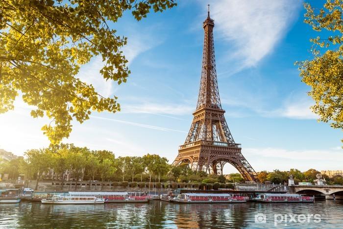 Naklejka Pixerstick Tour Eiffel - Paryż - Francja - iStaging