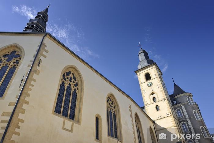 Fototapeta winylowa Świętego Michała Kościół w Luksemburg - Przemysł ciężki