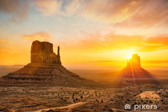Pixerstick Sticker Monument Valley - Thema's