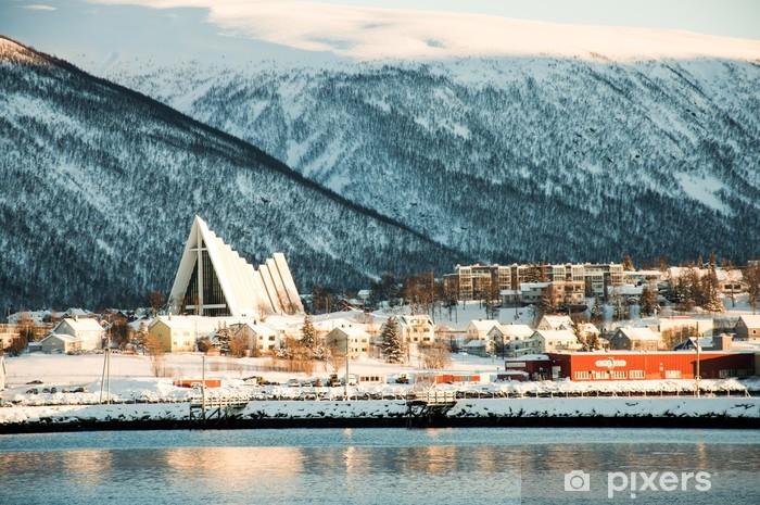 Naklejka Pixerstick Tromso view - Europa