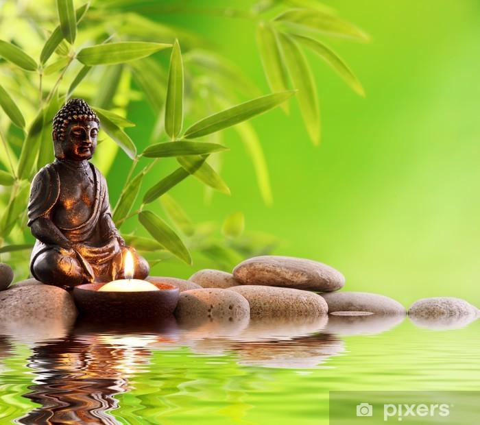 Papier Peint Bouddha Zen Pixers Nous Vivons Pour Changer