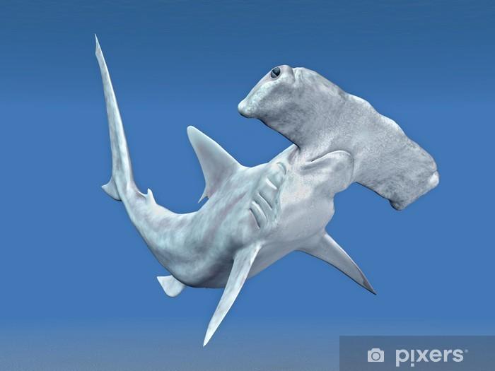 Naklejka Pixerstick Hammerhead - Zwierzęta żyjące pod wodą