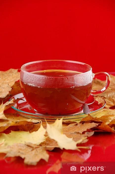 Sticker Pixerstick Tee - Boissons chaudes