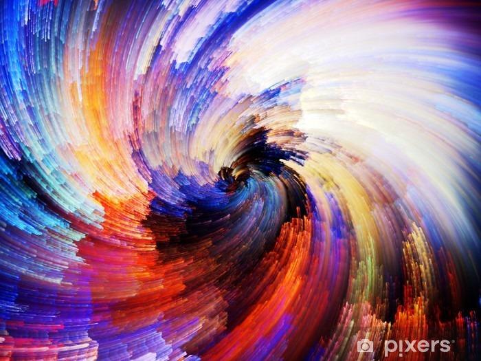 Papier peint vinyle Peinture Texture numérique -