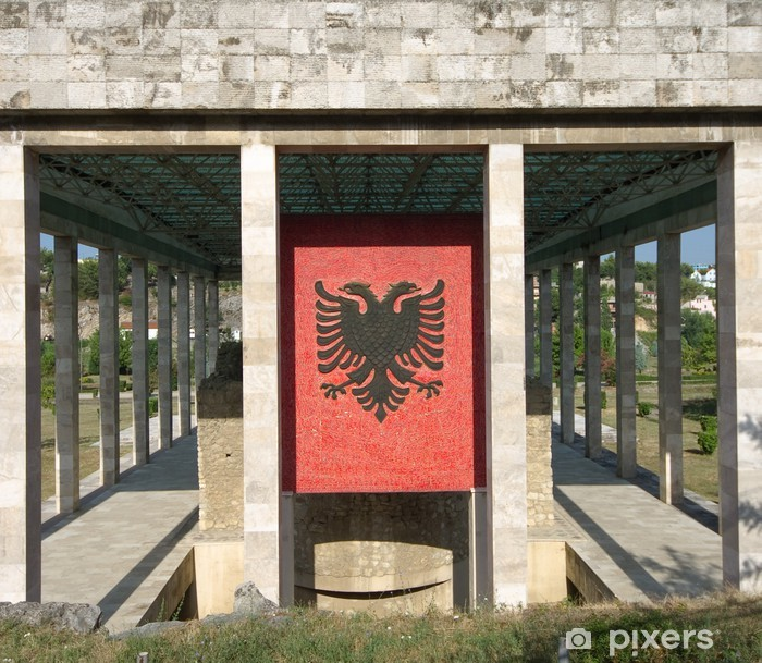 Plakat Skanderbeg Mauzoleum Lezhë - Albania - Europa