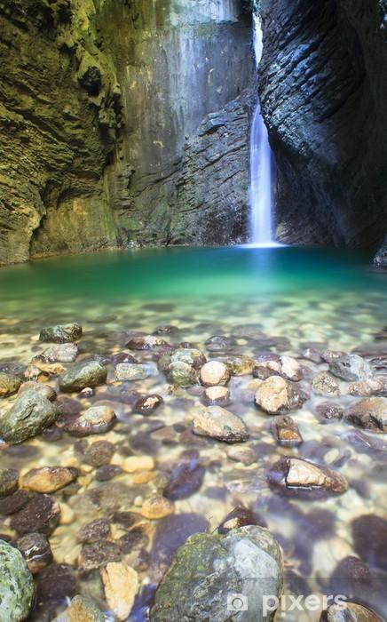 Pixerstick Dekor Kozjak vattenfall - Naturens mirakel