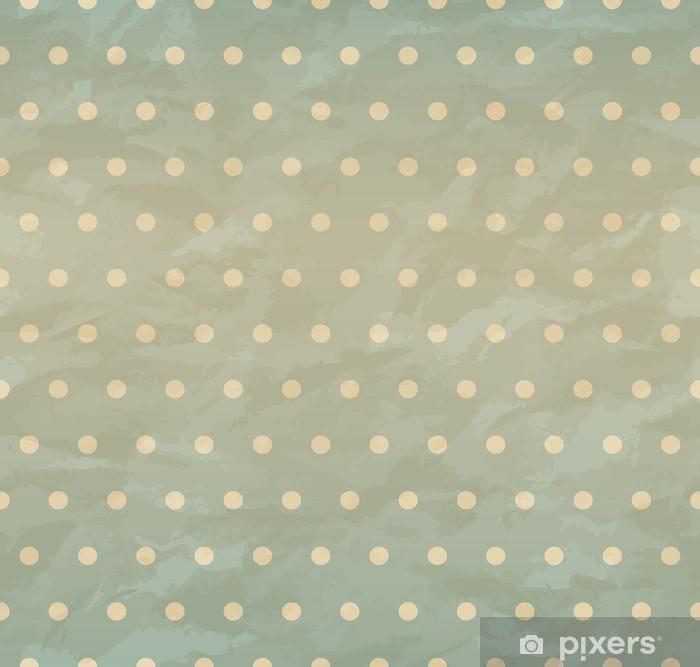 Vinyl Fotobehang Textuur van verfrommeld papier retro naadloos. EPS 10 - Achtergrond