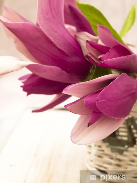 Fototapeta winylowa Magnolia spa ustawienie - Uroda i pielęgnacja ciała