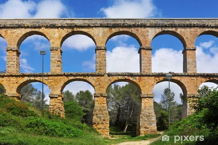 Fototapeta winylowa Diabelski Most rzymski akwedukt w Tarragona, Hiszpania - Europa