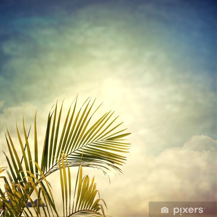 Fototapeta winylowa Photobeach-12 - Palmy
