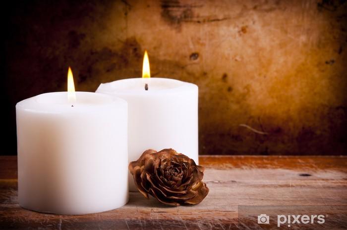 Decorare Candele Bianche : Candele bianche da giardino candele per matrimonio eleganti