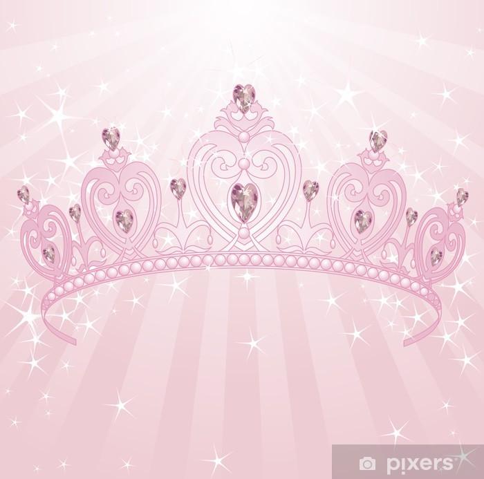 Sticker Couronne Princesse Pixers Nous Vivons Pour Changer