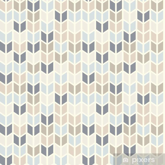 Plakat Powtarzalne geometryczny wzór w pastelowych odcieniach - Tematy