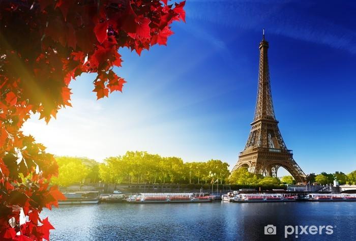 Fototapeta winylowa Kolor jesieni w Paryżu - Tematy