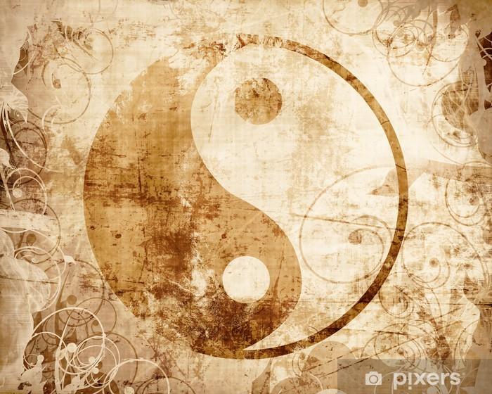 Fototapeta winylowa Yin yang znak - Znaki i symbole