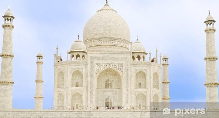 Fotomural Estándar Taj Mahal, Agra(India), una de las 7 maravillas del mundo. - Vacaciones