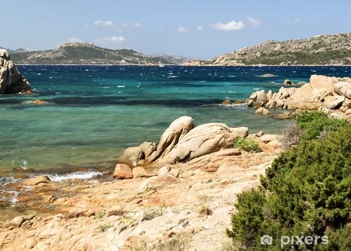 Fototapeta winylowa Wybrzeżu wyspy La Maddalena na Sardynii - Woda