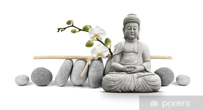 Bouddha et Bien-être Vinyl Wall Mural - Styles