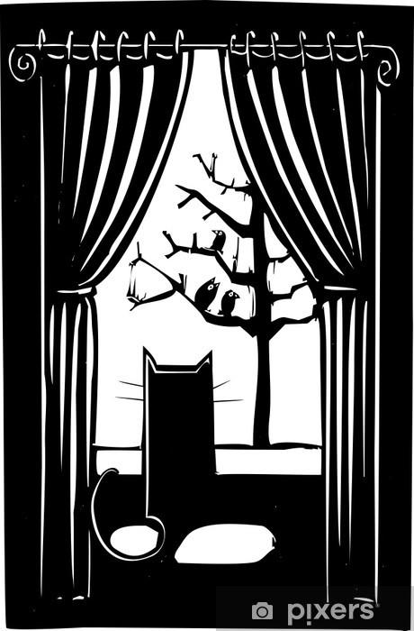 Nálepka Pixerstick House Cat - Jiné pocity