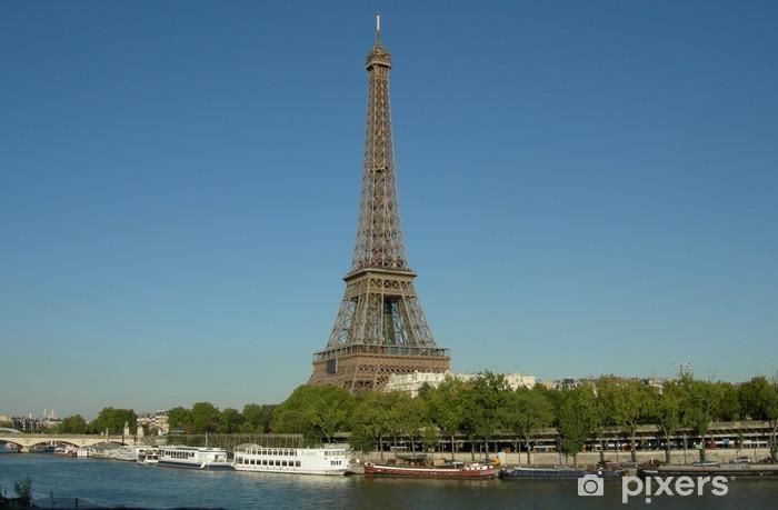 Papier peint vinyle Carte Postale Paris - Villes européennes