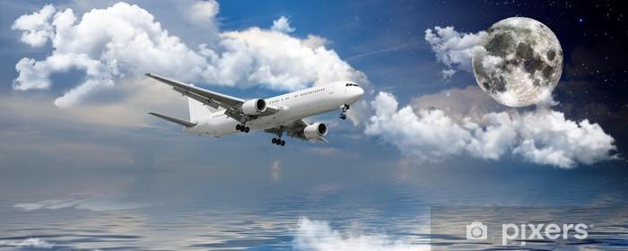Fotobehang Wereld Reizen Vliegtuig Pixers We Leven Om Te Veranderen