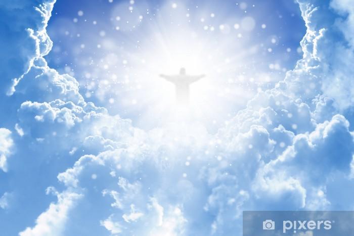 Naklejka Pixerstick Chrystus w niebie - Religie