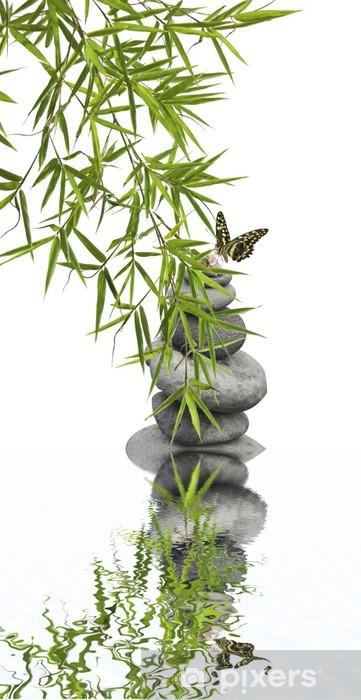 Vinilo Pixerstick Relajación concepto de naturaleza, el bienestar - Plantas