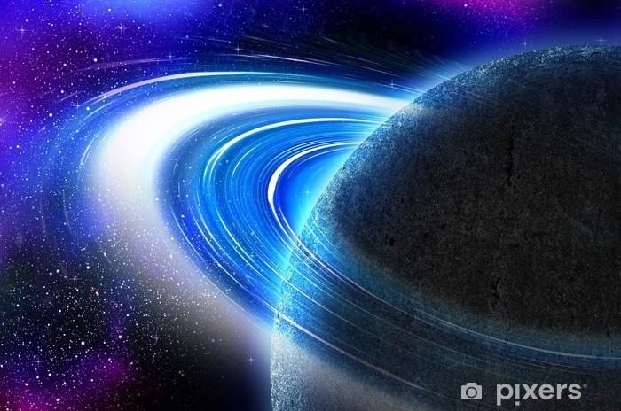 özet Uzay ışıkları Arka Plan Duvar Resmi Pixers Haydi Dünyanızı