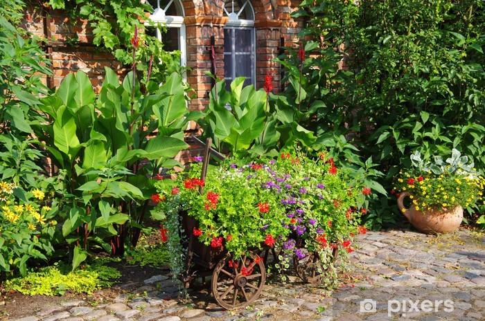 Nálepka Pixerstick Venkovská zahrada - Domov a zahrada