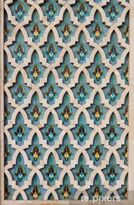 Super Fotobehang Kleurrijke Marokkaanse mozaïek tegel • Pixers® - We XX-97
