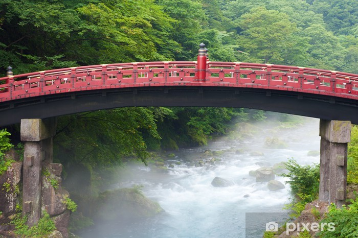 Fototapeta winylowa Sacred most Shinkyo - Azja