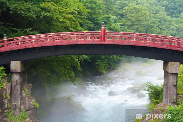 Sacred bridge Shinkyo Vinyl Wall Mural - Asia