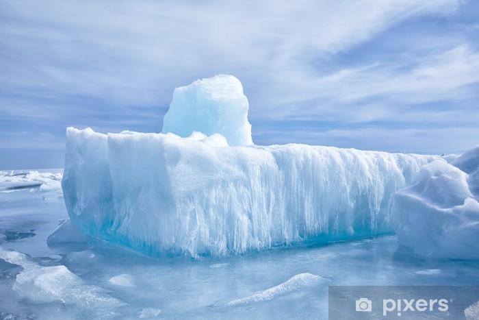 Naklejka Pixerstick Bajkał zimą - Pory roku