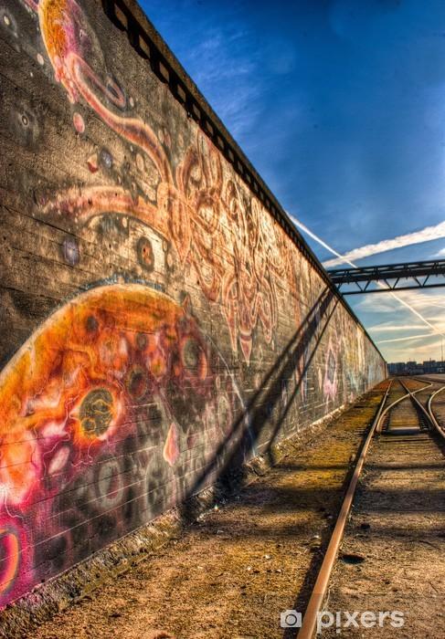 Vinylová fototapeta Ghetto graffiti - Vinylová fototapeta
